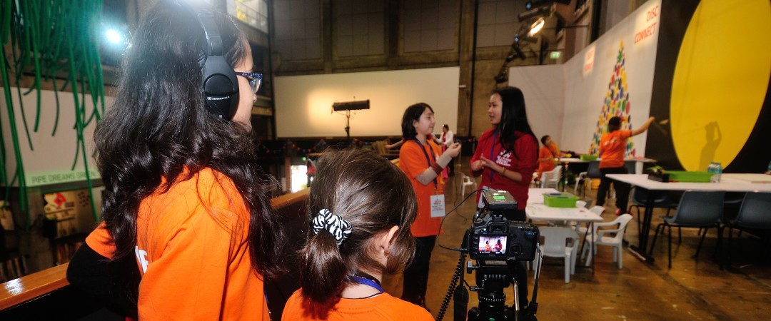 Young CuriousWorks Reporters WOW Festival