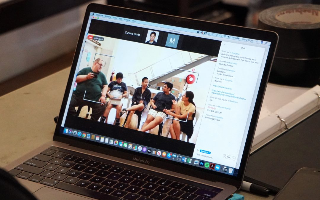 CuriousWorks goes Digital with Urban Stories: WFH